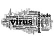 """VIRUS"" Tag Cloud (software firewall antivirus risk computer)"