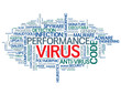 """VIRUS"" Tag Cloud (software firewall antivirus protection web)"