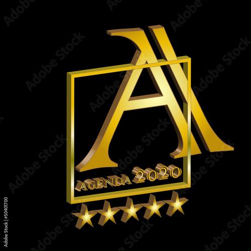 superior gold agenda2020 3d
