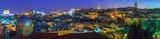 Panorama - Old City at Night, Jerusalem - Fine Art prints