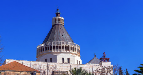 Panorama - Church of the Annunciation, Nazareth, Israel