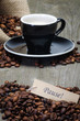 kaffee mit pause-schildchen