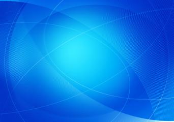 blue curves backdrop