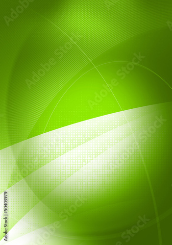 green graphics template