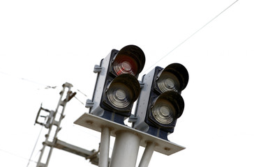 Railways traffic lights