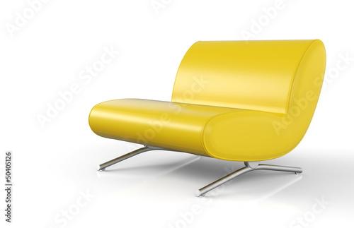 Ergonomischer Designer Sessel Gelb
