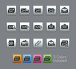 E-mail Icons / Vector includes 5 Colors