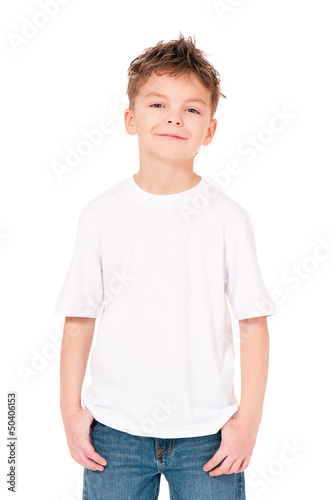 T-shirt on boy