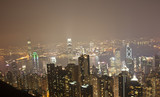 Hong Kong skyline nightview