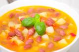 Vegetarian red bean soup