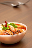 Thai Spicy Prawn Soup (Tom Yum Kung)