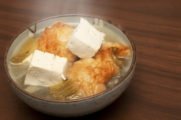 Chinese Soup: Fish with Tofu