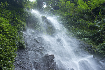 Nangka Waterfall in Indonesia