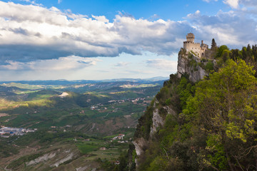 Castle in San Marino - La Cesta or Fratta