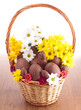 easter basket chocolates