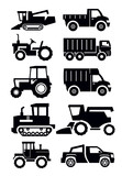 Fototapety agricultural transport