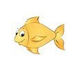 Goldfisch Vektor