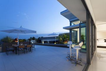 Modern balcony