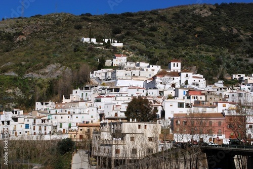 White village, Torvizcon, Andalusia, Spain © Arena Photo UK