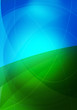 blue green graphics