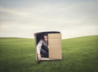 claustrophobic