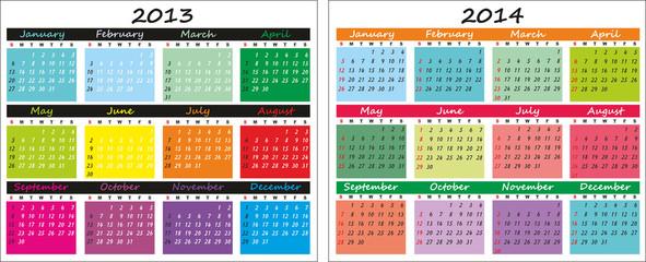 Календарь 2013-2014