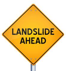 Landslide ahead