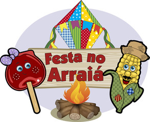 Festa no arraiá