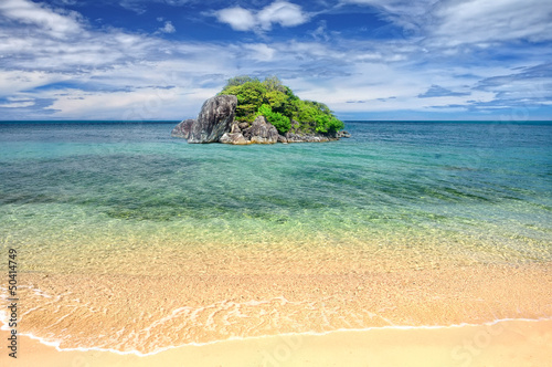Beach and Tropical island