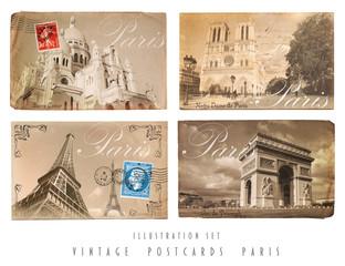 Alte Postkarten Paris
