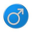 Bottone simbolo maschio