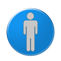 Bottone simbolo uomo