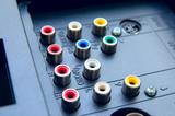 Input-output TV connectors poster