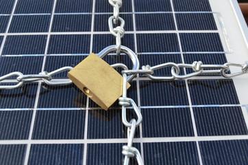 Solarmodul Schutz
