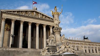 Wien Palast Statue