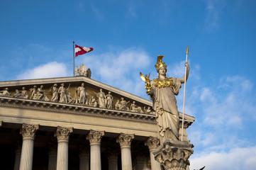 österreich wien Pallas Athene Statue