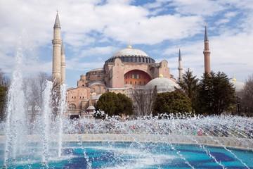 Haghia Sophia in Istanbul Turkey