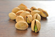 Pistachios salty shallow depth of field