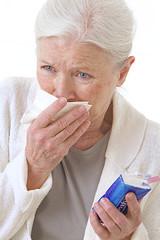 Femme - Rhume ou Allergies