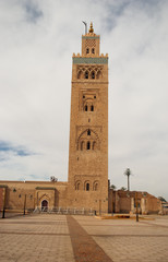 Koutubia mosque in Marrakech (Morocco)