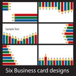 Pencil business cards