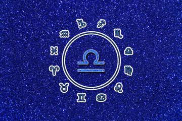 """Sternkreiszeichen Waage """"zodiac sign"""" libra"""
