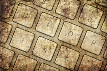 Grunge keyboard