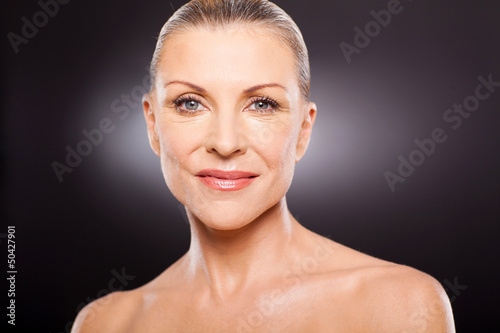 mid age woman portrait