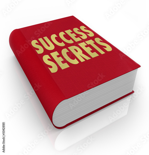 Success Secrets Book Instructions Manual Advice