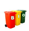 Recycle Bins Isolated