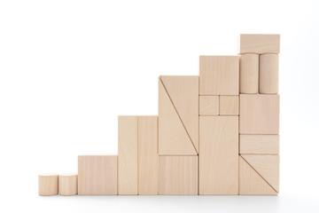 積み木の階段