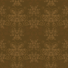 Elegant Sepia Pattern