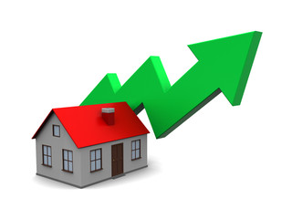 house price rising