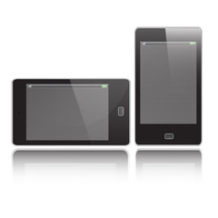 Smart Phone Vertical and Horizontal